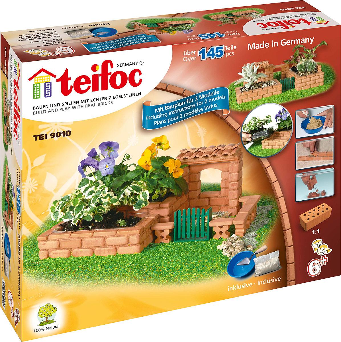 купить Teifoc Строительный набор Цветник по цене 1390 рублей