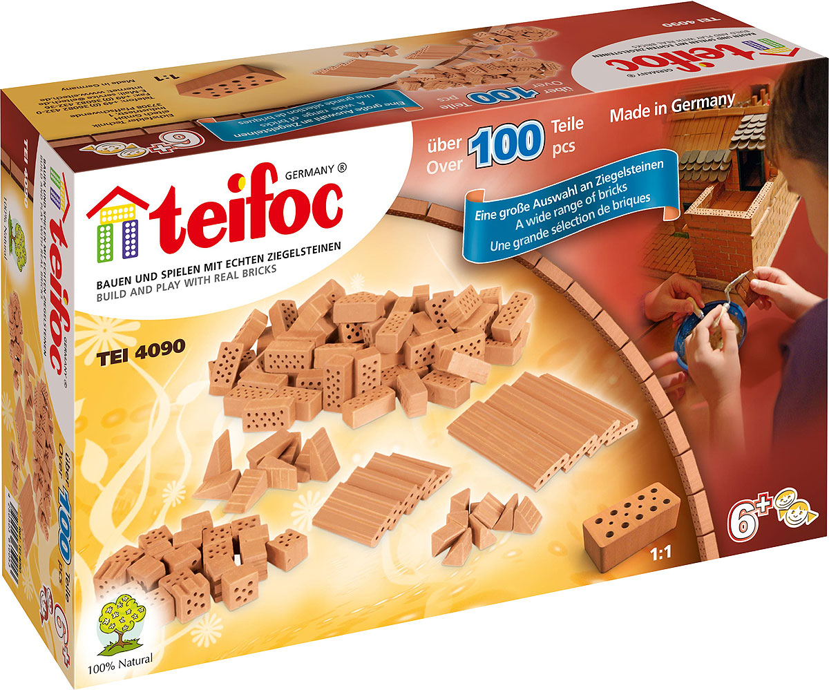 купить Teifoc Набор кирпичиков в ассортименте по цене 1083 рублей