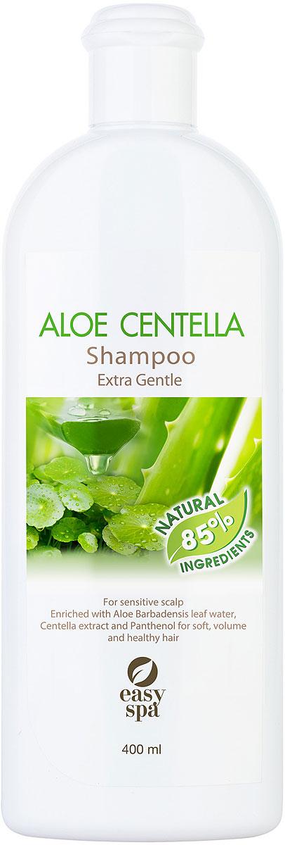 Easy Spa Шампунь для волос и чувствительной кожи головы Aloe Centella, 400 мл