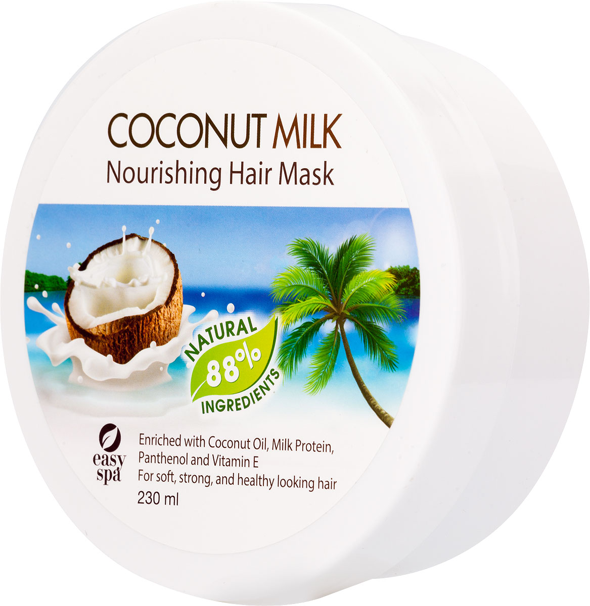 Easy Spa Маска питательная для волос Coconut Milk, 230 мл