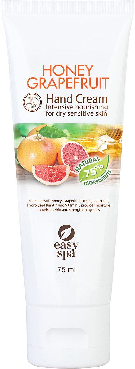 Easy Spa Крем для рук питательный Honey Grapefruit, 75 мл