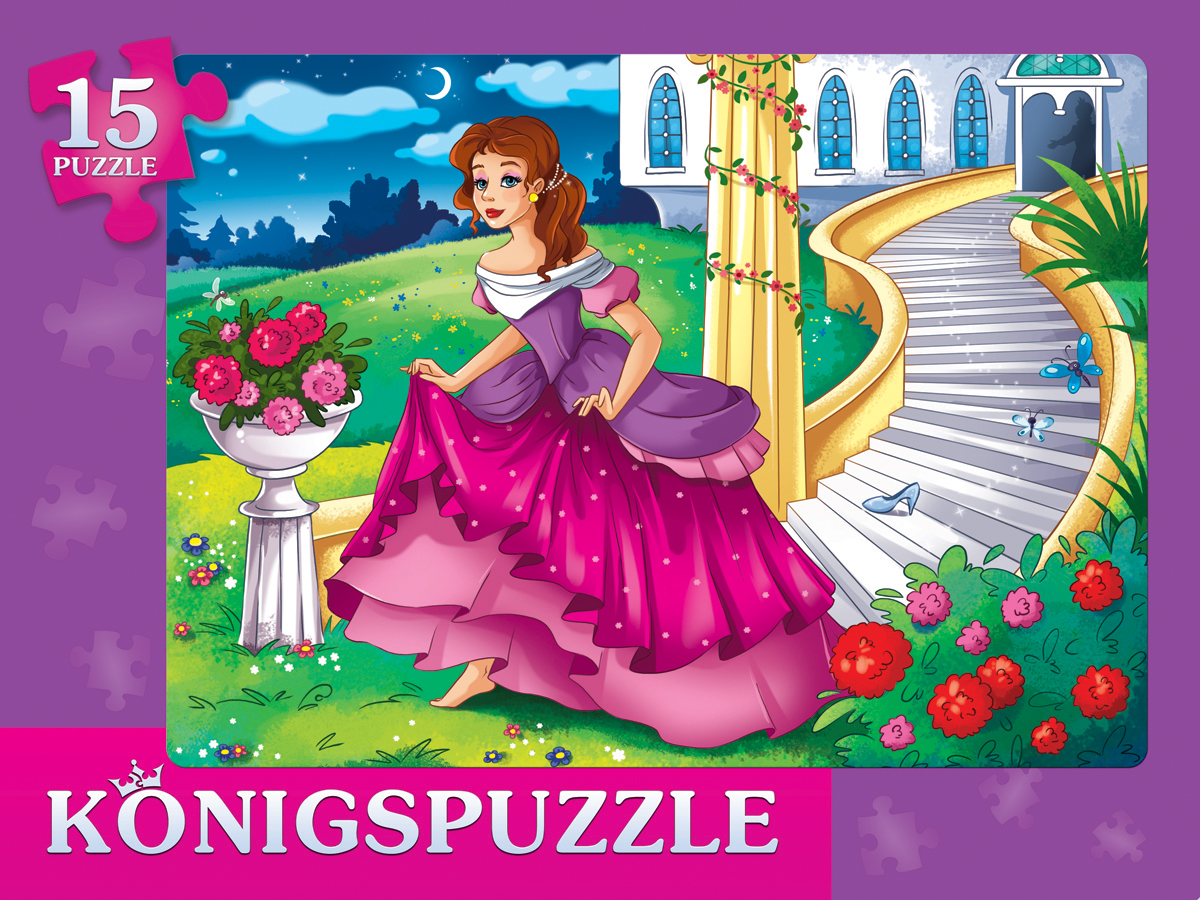 KonigspuzzleПазлрамка для малышей Золушка3