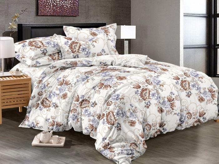 """Комплект белья """"Soft Line"""", 1,5 спальное, наволочки 50x70, цвет: мультиколор. 6100"""