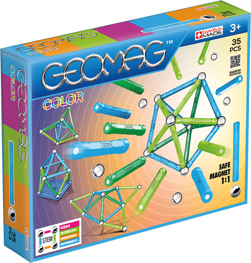 Geomag Конструктор магнитный Color 35 элементов