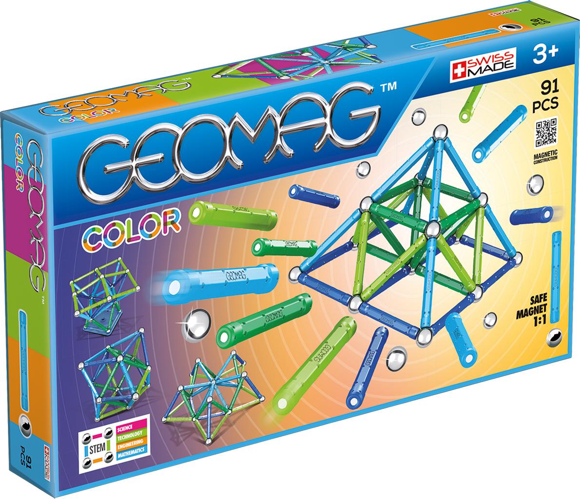 Geomag Конструктор магнитный Color 91 элемент