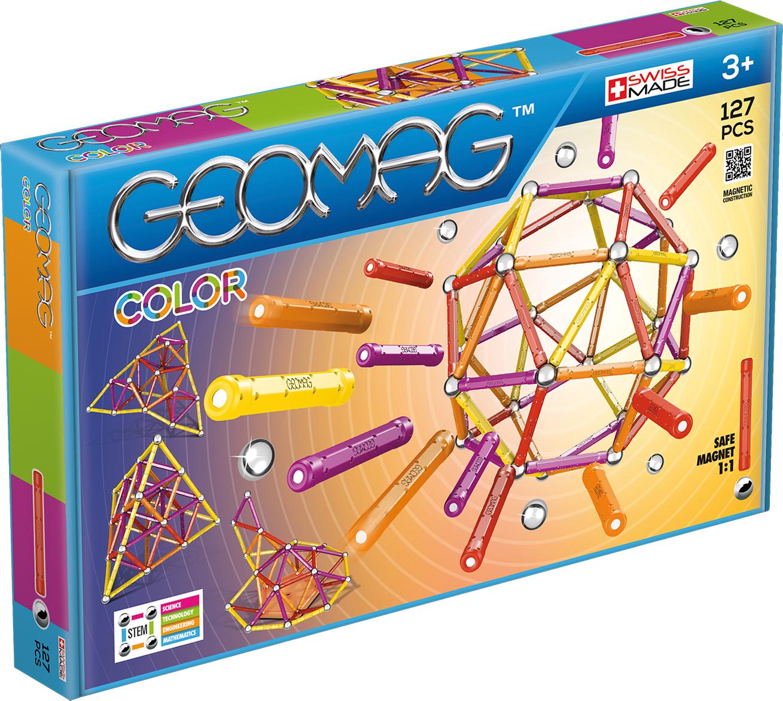 Geomag Конструктор магнитный Color 127 элементов