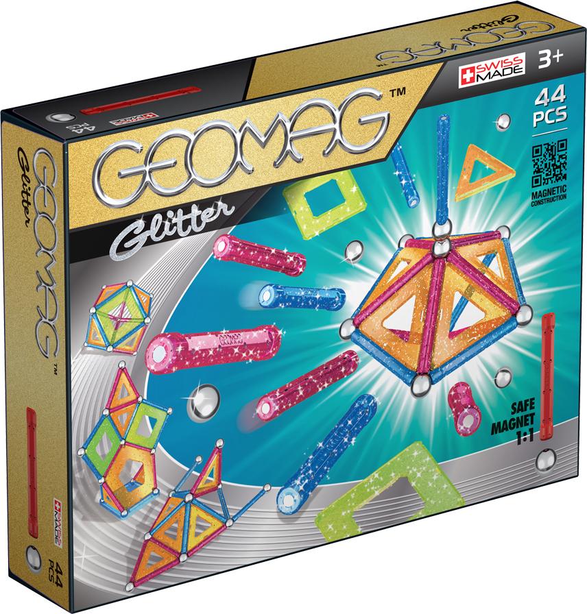 Geomag Конструктор магнитный Glitter 44 элемента