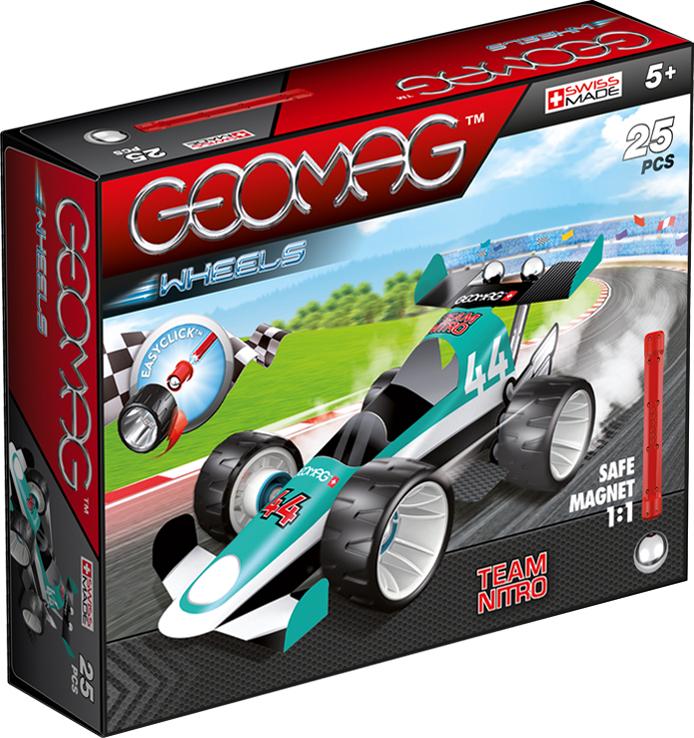 Geomag Конструктор магнитный Wheels 25 элементов 711