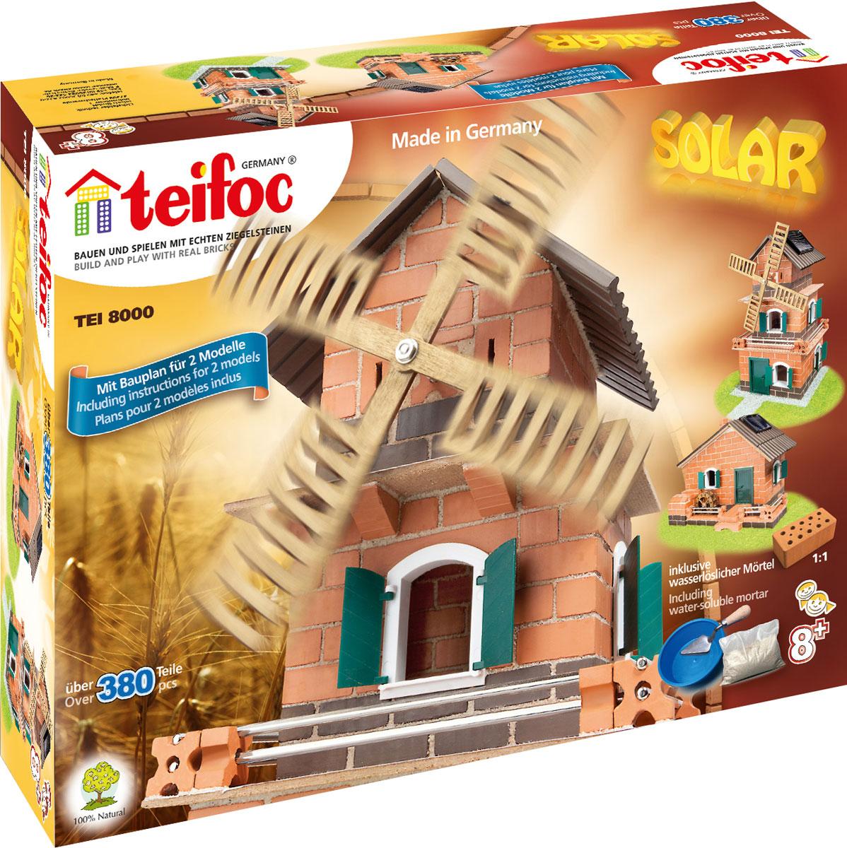 все цены на Teifoc Строительный набор Ветряная мельница TEI 8000 онлайн