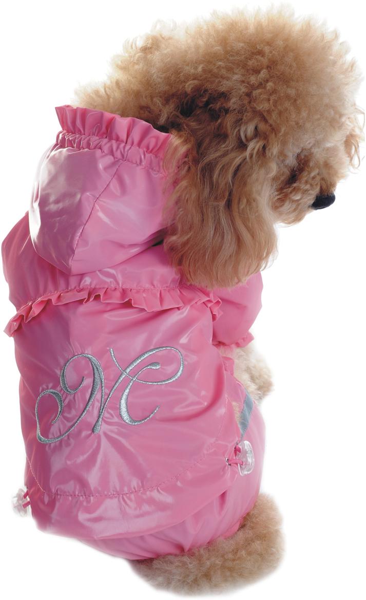 Комбинезон для собак Dobaz цвет  розовый  ДА1131А4ХЛ  Размер 4XL