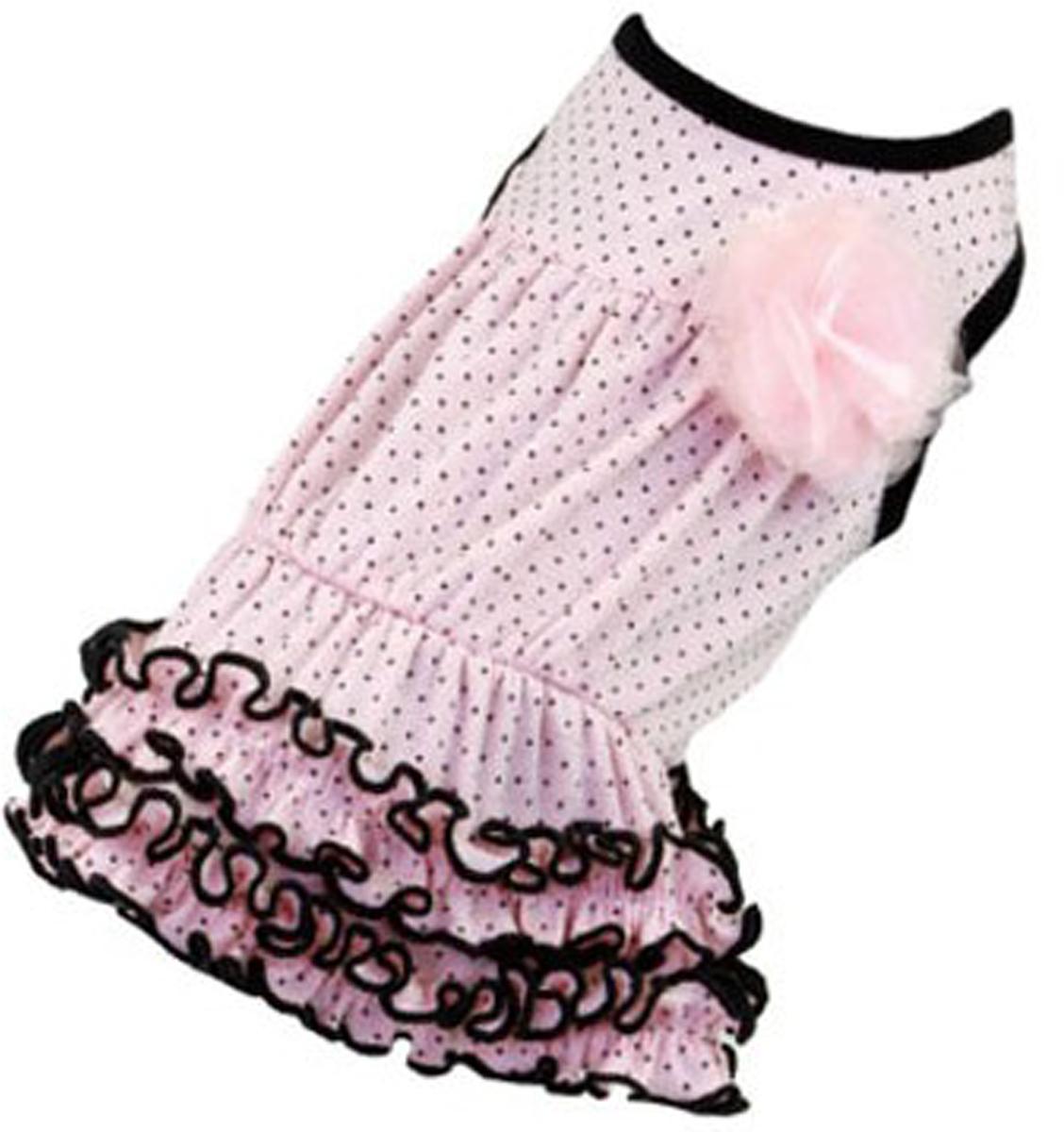 """Платье для собак """"Dobaz"""", цвет: светло-розовый. ДА13019СХЛ. Размер XL"""