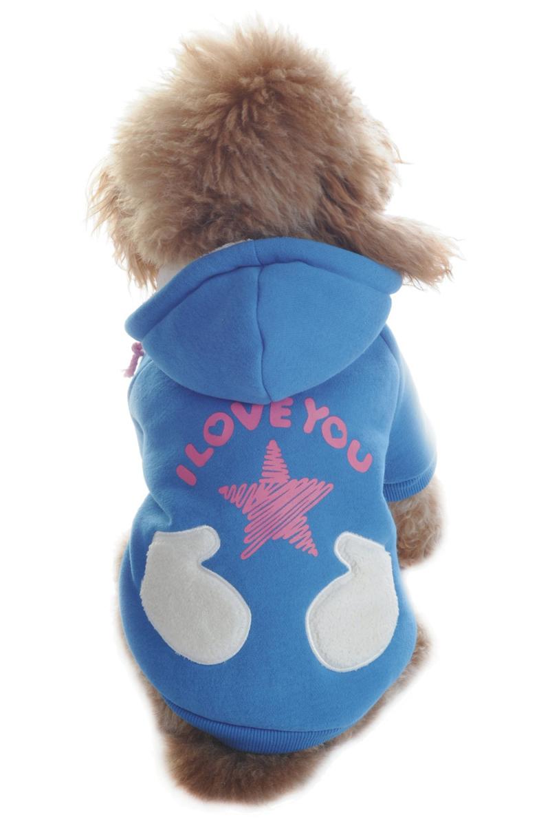 """Куртка для собак """"Dobaz"""", цвет: голубой. ДА1122БЛ/п. Размер L"""