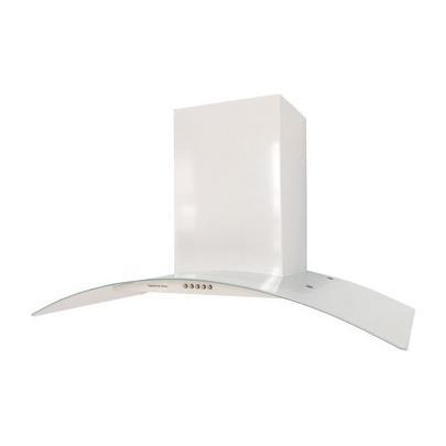 Вытяжка со стеклом Zigmund _amp_ Shtain K 296. 91 W м/час): 650 Управление: механическое Цвет: белый...