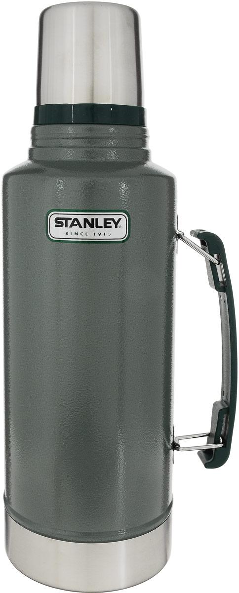 Термос Stanley Legendary Classic, цвет: темно-зеленый, 1,9 л