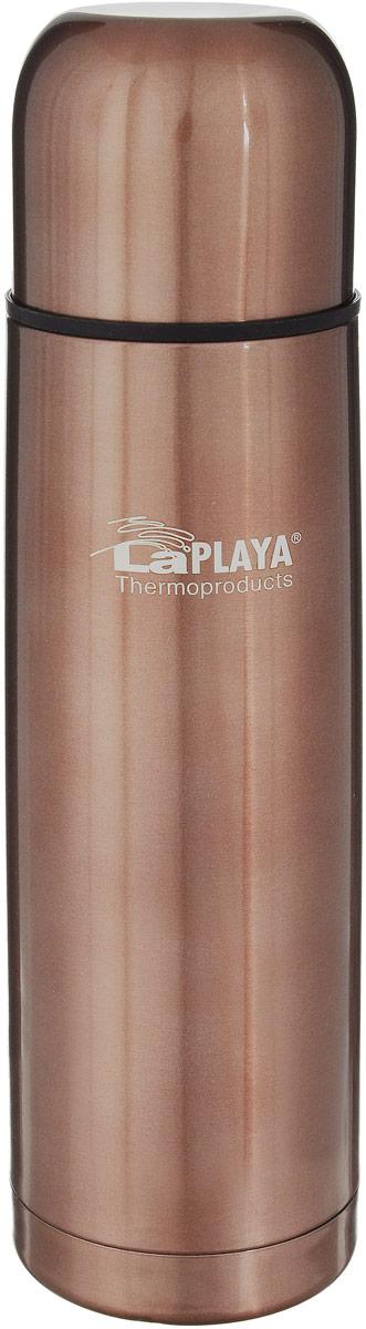 Термос LaPlaya Mercury, цвет: бронзовый, 500 мл термос стальной laplaya mercury red 1 л