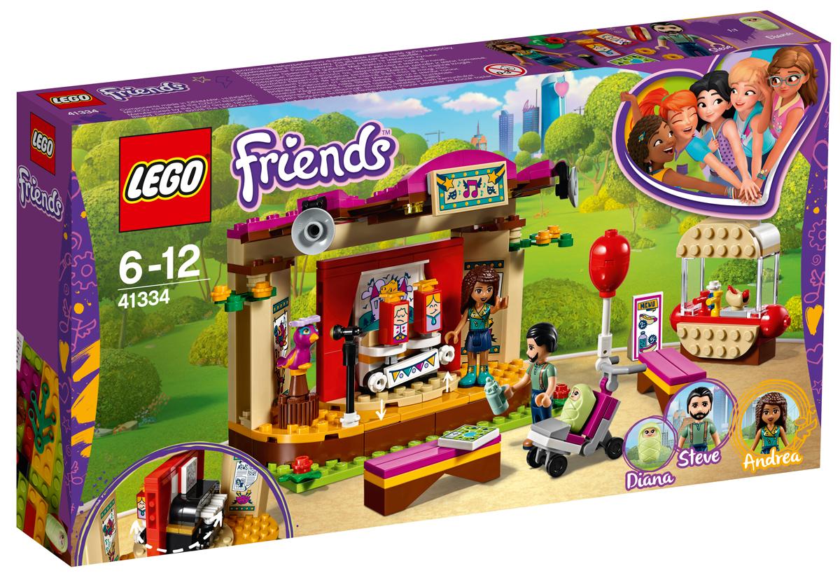 96e776e93258f LEGO Friends 41334 Сцена Андреа в парке Конструктор — купить в интернет- магазине OZON с быстрой доставкой