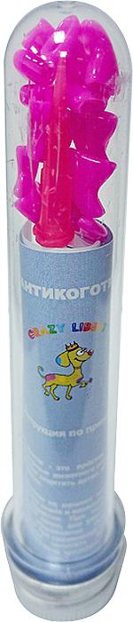 """Антикоготки для кошек """"Crazy Liberty"""", цвет: розовый, 20 шт. Размер L"""