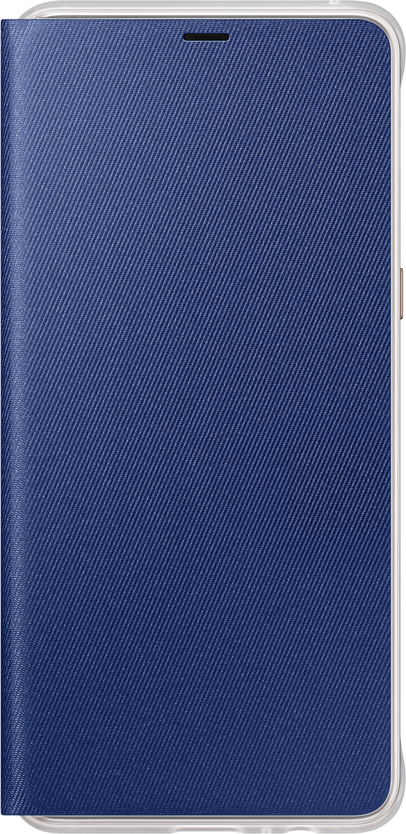 Samsung Neon Flip Cover чехол для Galaxy A8+, Blue цена и фото
