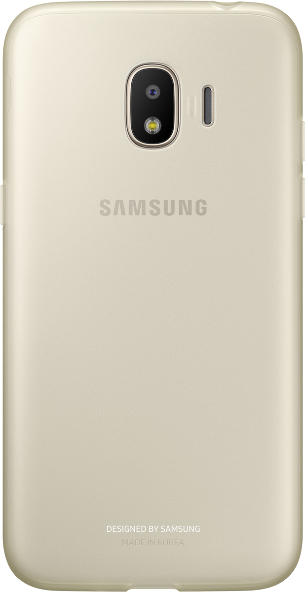 Samsung Jelly Cover чехол для Galaxy J2 (2018), Gold чехол для samsung galaxy j2 2018 sm j250f jelly cover розовый