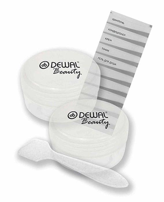 Фото - Dewal Beauty Дорожный набор баночек для путешествий, 3 предмета. DBTS2C средства и предметы гигиены