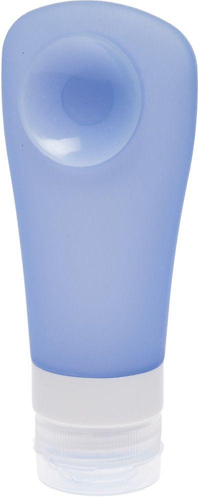 Dewal BeautyДорожная баночка для путешествий, с присоской, цвет:  голубой, 90 мл Dewal Beauty