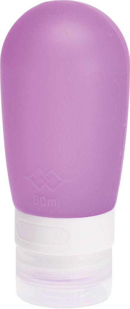 Dewal BeautyДорожная баночка для путешествий, цвет:  фиолетовый, 80 мл Dewal Beauty