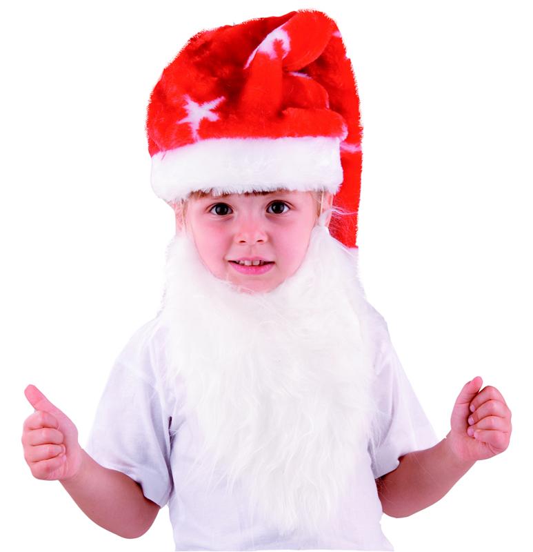 Батик Аксессуар карнавальный для мальчика Колпак с бородой размер 52-54 колпак diffusor k50 1