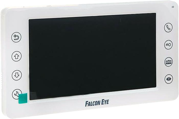 Falcon Eye FE-70CH ORION видеодомофон видеодомофон falcon eye fe 70 aries white дисплей 7 tft сенсорный экран подключение до 2 х вызывных панелей и до 2 х видеокамер интерком графи