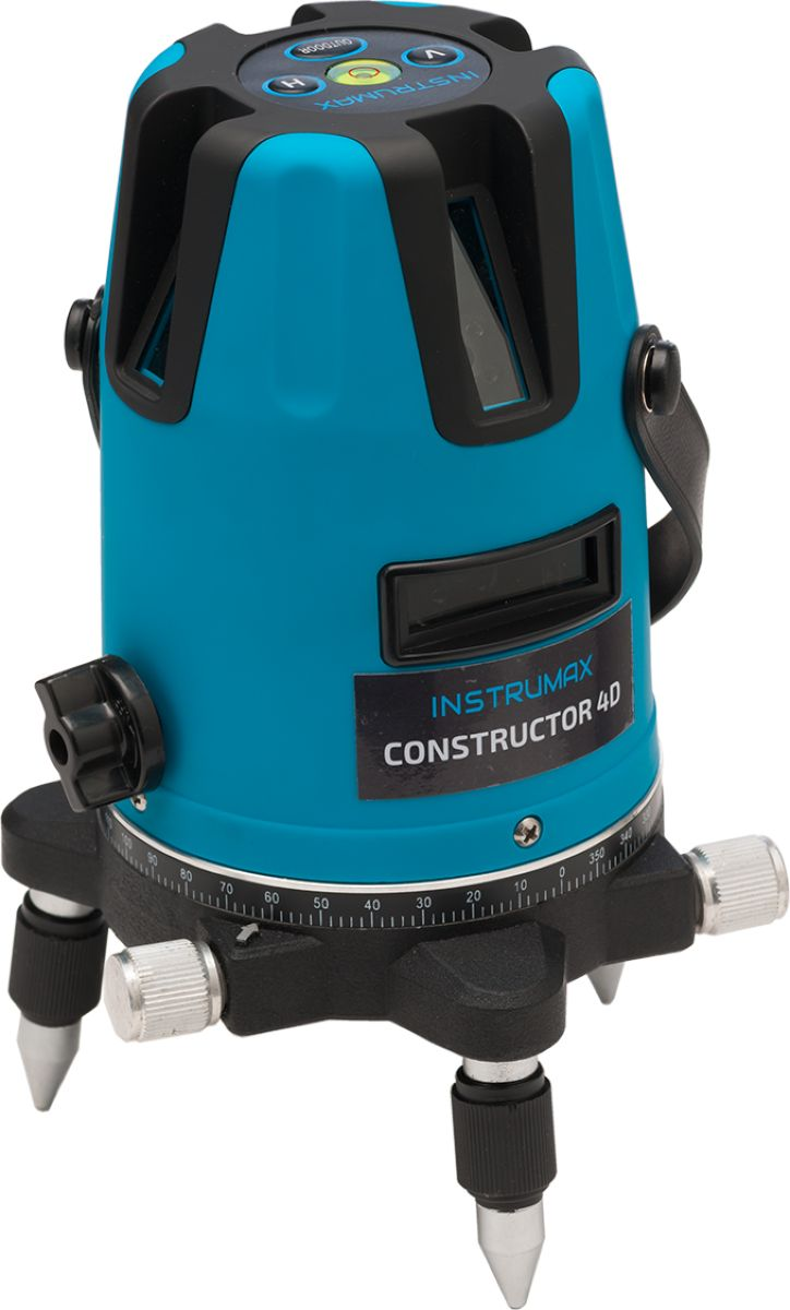 Построитель лазерных плоскостей Instrumax Constructor 4D нивелир instrumax constructor 4d