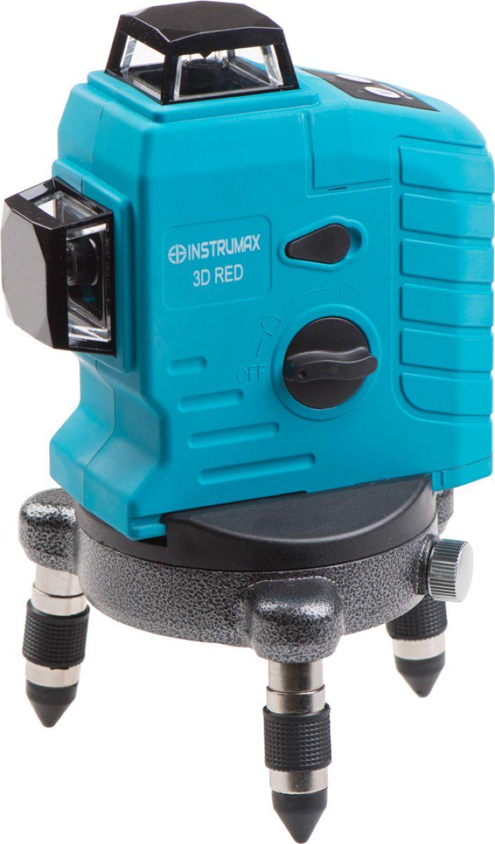 Построитель лазерных плоскостей Instrumax 3D RED нивелир instrumax 360 red