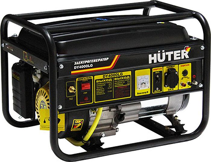 Электрогенератор Huter DY4000LG система автомат контроля загазованности сакз мк 1 1а dn 20 нд природный газ бытовая