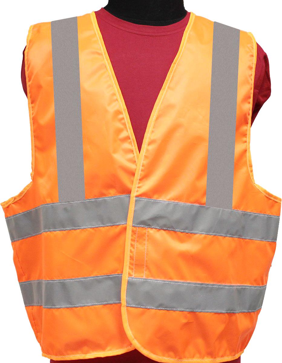 Жилет светоотражающий Tplus, класс защиты 3, цвет: оранжевый. Размер 56-58 берет fortiknitwear оранжевый медь 56 58 размер