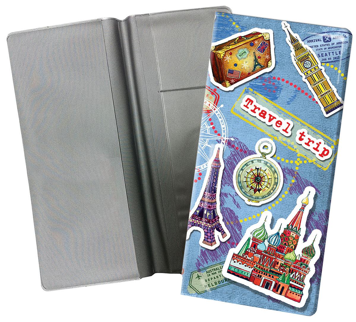 Конверт путешественника Magic Home Столицы мира, для документов. 77124 сувенир конверт путешественника авто винтаж для документов из пвх 20 5 22см 77224
