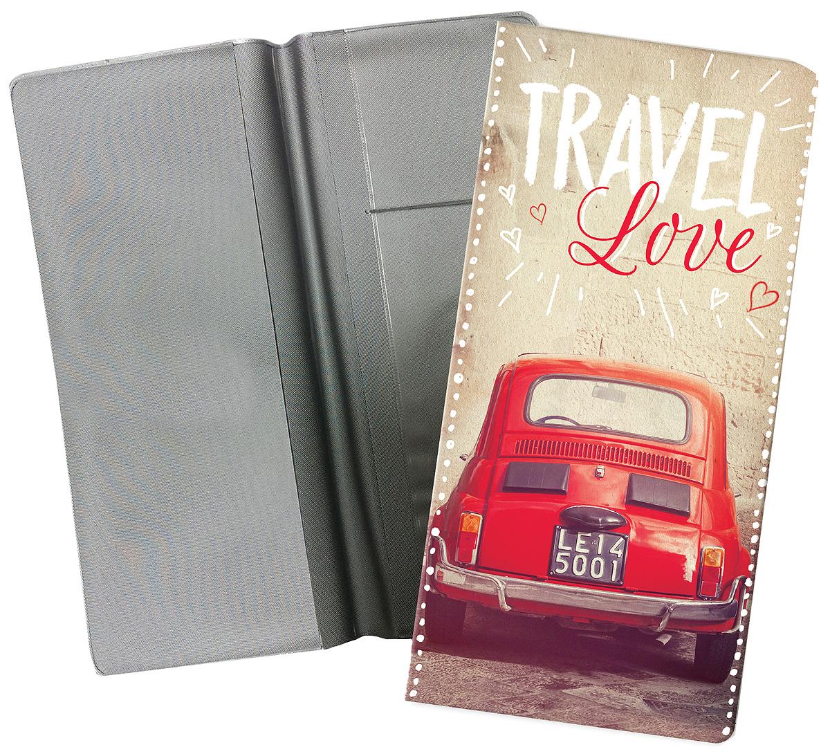 Конверт путешественника Magic Home Авто винтаж, для документов. 77224 конверт путешественника матрешки на красном пвх 20 5 22см 77117