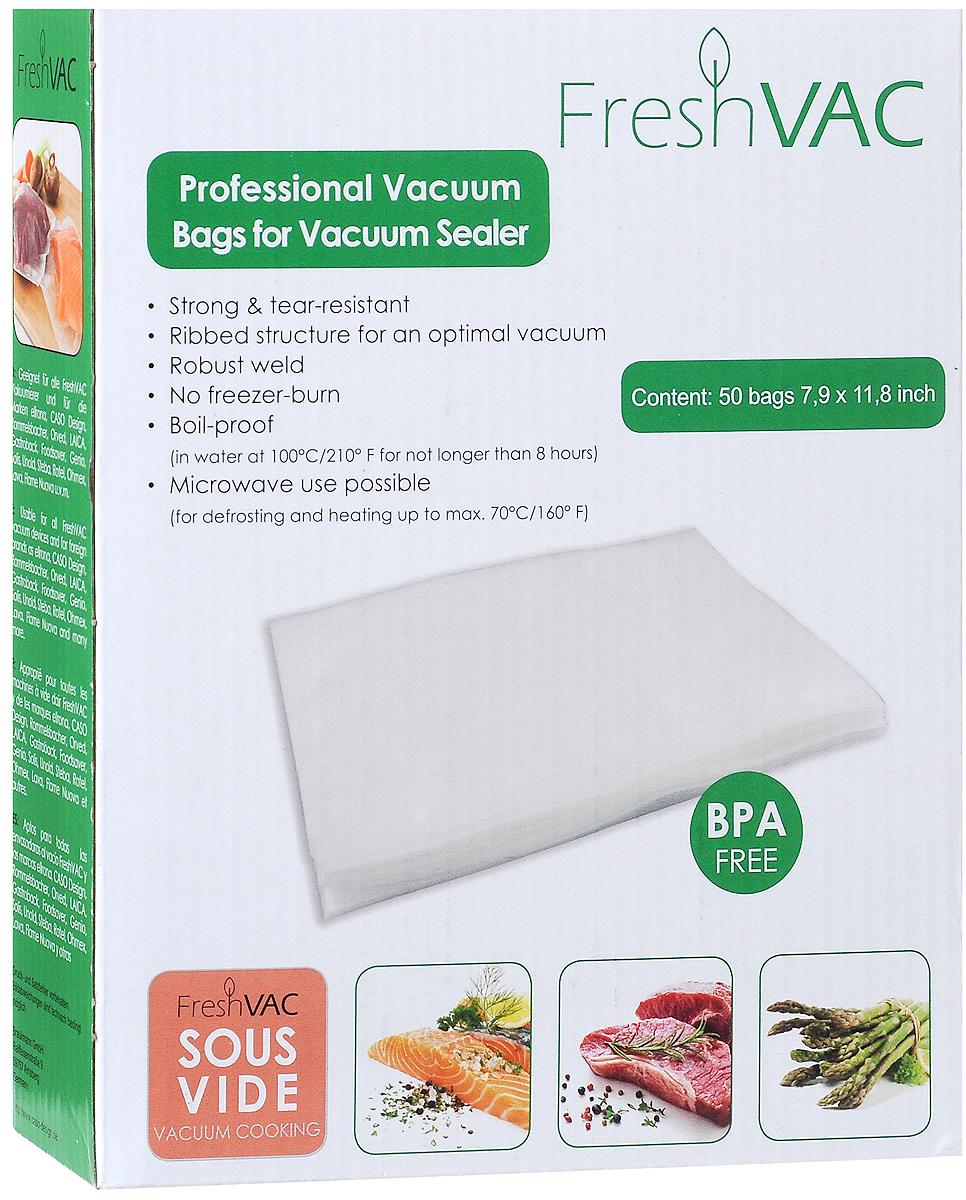 Ellrona FreshVACpro 20х30 пакеты для вакуумного упаковщика, 50 шт. Ellrona