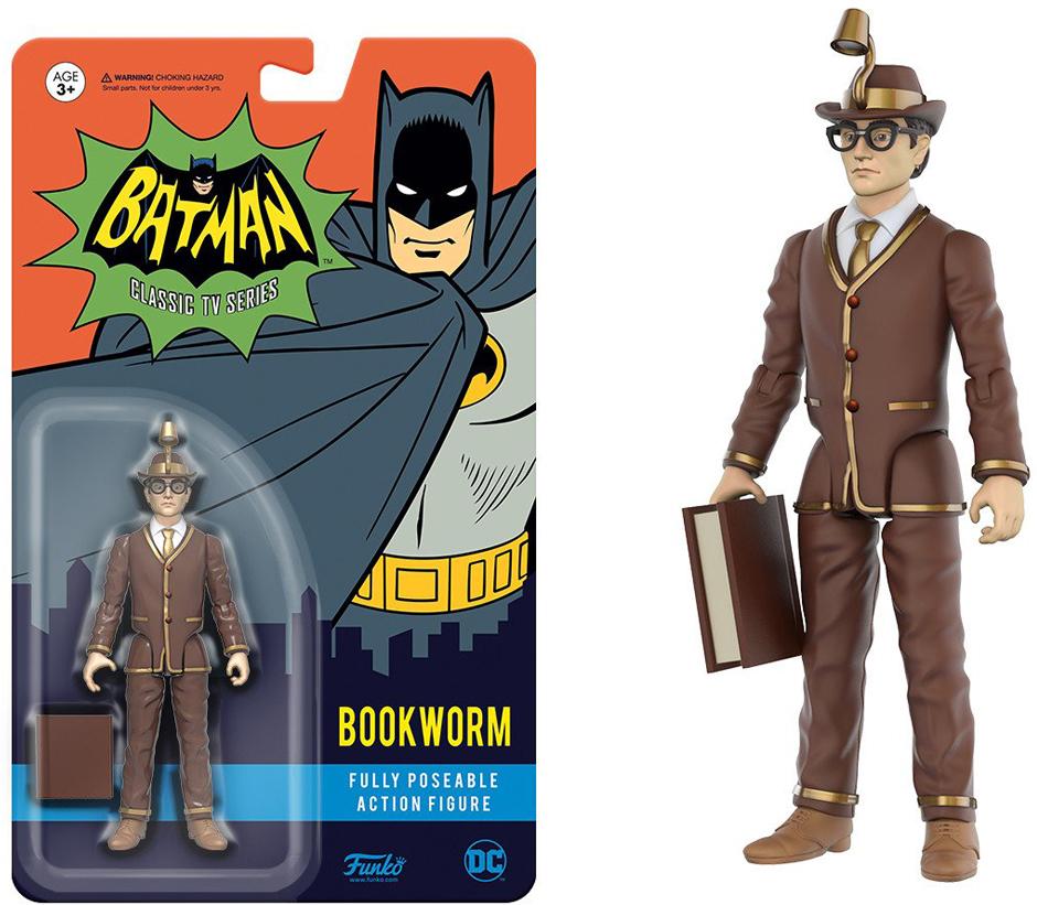 Фигурка Funko Action Figure: DC Heroes: Bookworm 13912 nba cavaliers lebron james vinyl action figure toy