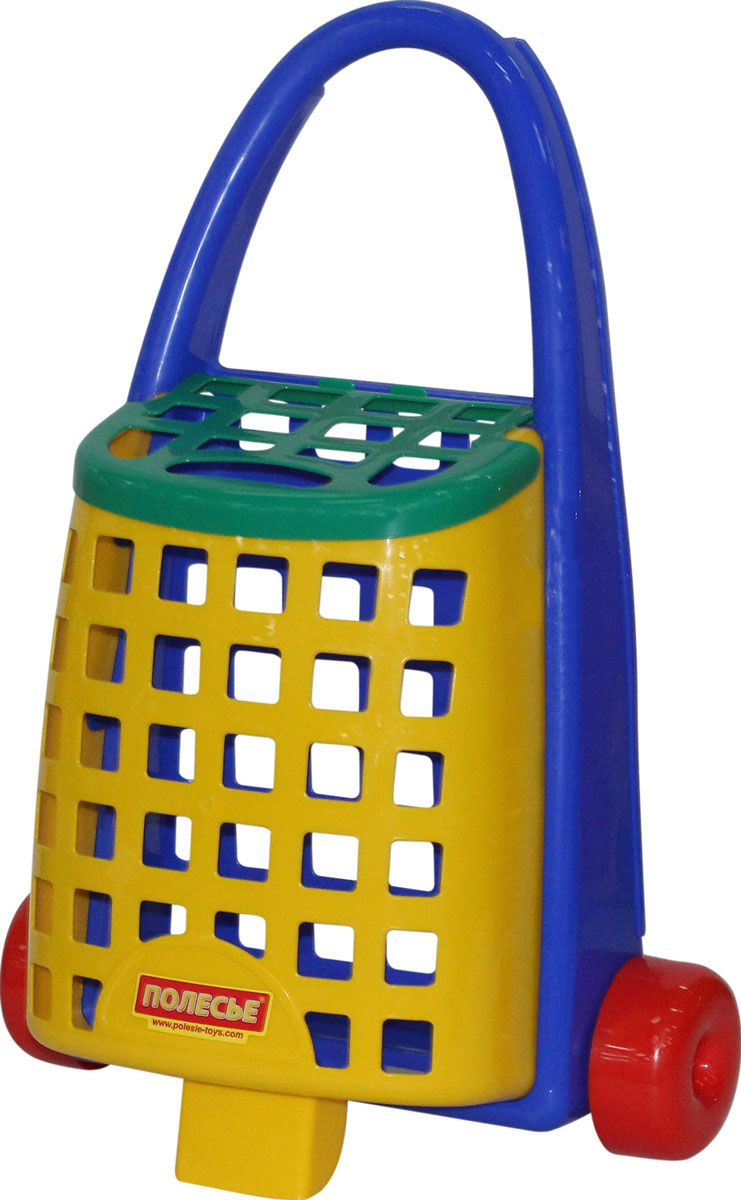 Фото - Полесье Забавная тележка, цвет в ассортименте полесье игрушечная тележка supermarket 1 с набором продуктов цвет в ассортименте