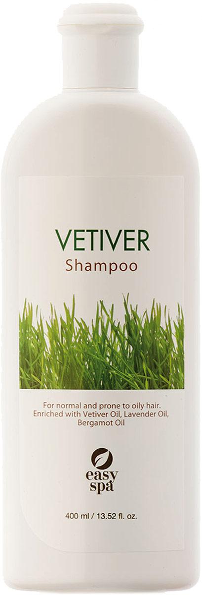 Easy Spa Шампунь для нормальных и жирных волос Vetiver, 400 мл