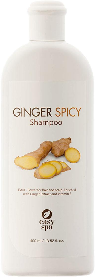 Easy Spa Шампунь для волос и кожи головы экстра-питание Ginger Spicy, 400 мл