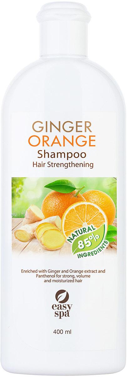 Easy Spa Шампунь укрепляющий для ослабленных и поврежденных волос Ginger Orange, 400 мл