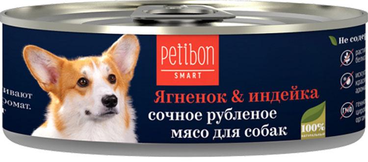 все цены на Корм консервированный для собак Petibon