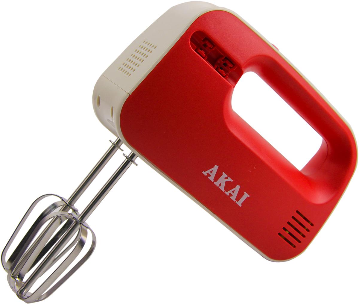 Миксер AKAI 1503RL, красный