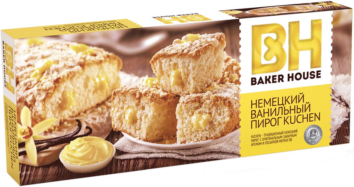 Baker House немецкий Kuchen пирог ваниль, 350 г