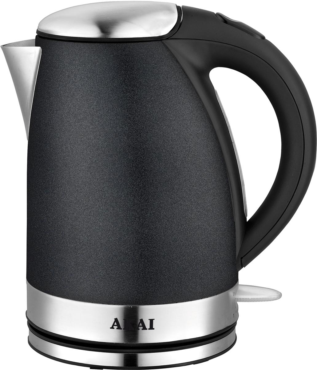лучшая цена Электрический чайник Akai 1014В, Black