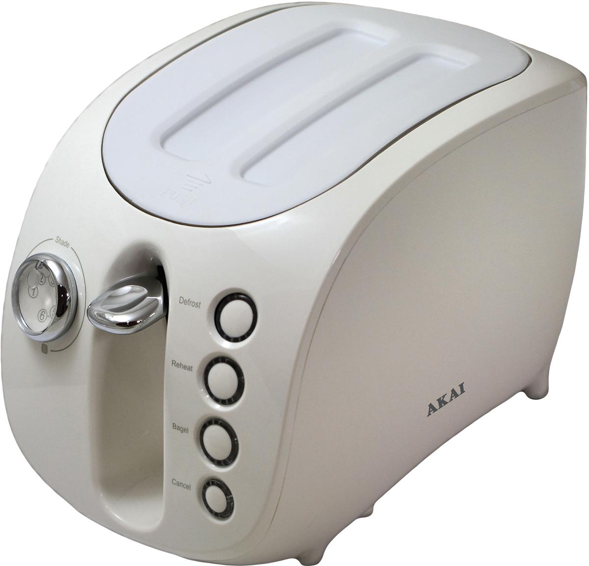 Тостер Akai ТР-1110 W, White