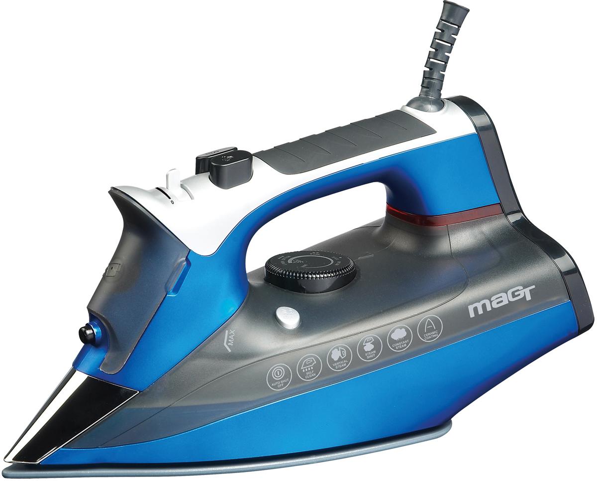 лучшая цена Утюг Magtek 2301 Mag, Blue