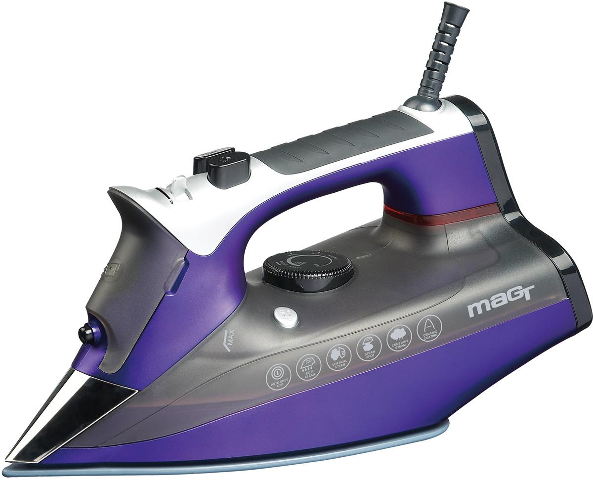 лучшая цена Утюг Magtek 2301 Mag, Purple