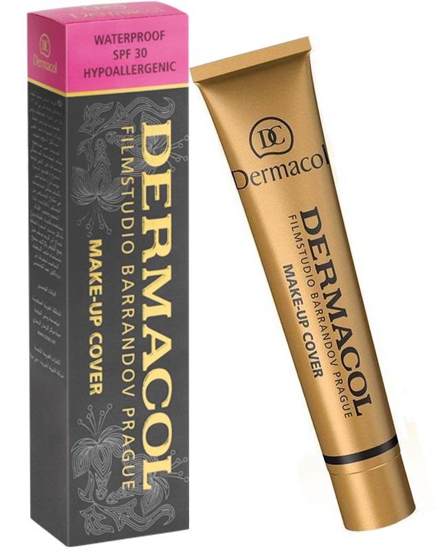 Тональный крем Dermacol Make-up Cover, тон 212, 30 мл недорого