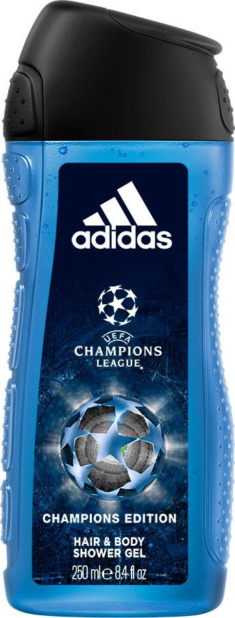 Adidas Гель для душа UEFA IV мужской, 250 мл adidas uefa iii гель для душа для мужчин 250мл