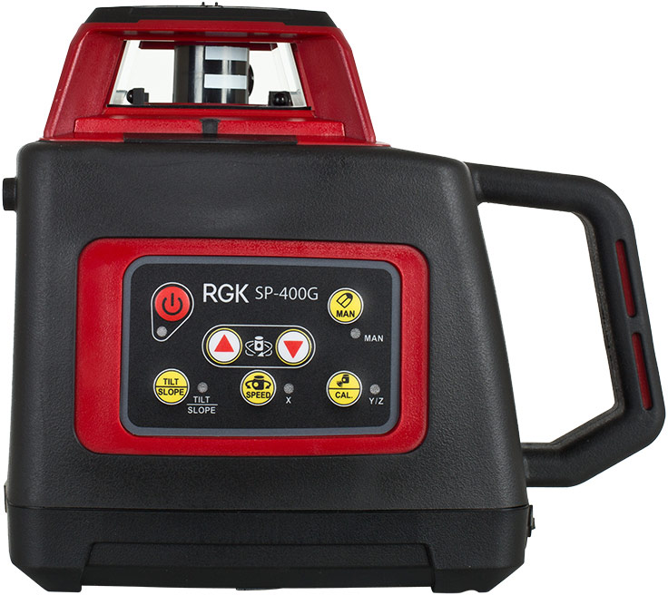 Лазерный ротационный нивелир RGK SP400 Green 400g